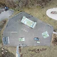 Skatepark von oben