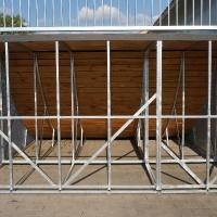 Stahlunterkonstruktion verzinkt
