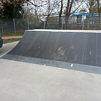 Instand gesetzte Skateanlage